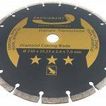 Prodiamant Disque à tronçonner diamant universel 230 x 22,2 mm Pour béton, pierre, tuiles, rondelles de séparation diamant 230 mm de la marque PRODIAMANT image 1 produit