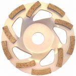 PRODIAMANT Qualité Première Disque Diamant à Meuler Béton 125 x 22,2 mm - diamant meule PDX82.909 Turbo 125mm de la marque PRODIAMANT image 1 produit