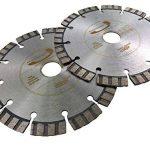PRODIAMANT Qualité Première Disque à tronçonner diamant Béton Laser 2x 150 x 22,2 mm, PDX821.711 150mm de la marque PRODIAMANT image 4 produit