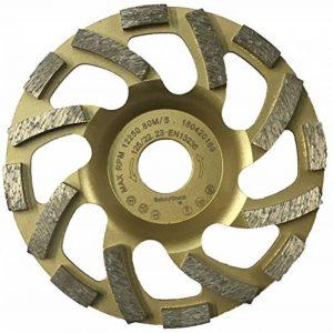 PRODIAMANT Qualité Professionnelle Disque Diamant à Meuler Béton 125 x 22,2 mm - diamant meule PDX82.918 Turbo 125mm de la marque PRODIAMANT image 0 produit