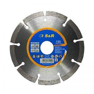 S&R Disque diamant 125 / Lame diamantée à tronçonner standard, soudé au laser, coupe à sec. de la marque S-R image 0 produit