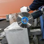 S&R Disque Diamant 230 mm. Disque à tronçonner 230 x 22,2 x 10 Standard 2,6 mm pour Béton, Béton armé, Granit, Pierre naturelle, Brique de la marque S-R image 2 produit