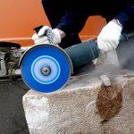 S&R Disque Diamant 230 Turbo à tronçonner et découper Béton, Granit, Pierre naturelle, Brique, Coupes à sec. de la marque S-R image 1 produit