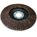 S&R Disque à Lamelles 125 Grain 40. Lot de 5 Disques Abrasifs à Lamelle pour Meuleuse d'Angle de la marque S-R image 2 produit