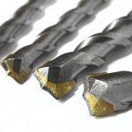 S&R Forets à béton SDS Plus Coffret 6 forets : 5, 6, 8 x 110mm ; 6, 8, 10 x 160 mm pour béton, maçonnerie, pierre, granit. Forets pour marteau perforateur et perceuse à percussion. de la marque S-R image 2 produit