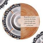 SayHia Meule à découper en Bois, Alliage Haute dureté 4 Pouces 22 Dents pour Meuleuses d'angle pour disques, Lames de scie et Outils de la marque SayHia image 4 produit