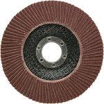 SBS Disques abrasifs à lamelles | Ø 115mm|Grain 40à 120|Lot de 10|Marron & Bleu Inox Métal & Bois Meuleuse d'angle roue de ponçage, Braun Korn 80, 0 de la marque SBS image 2 produit