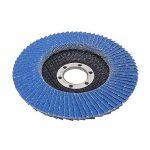 SBS disques à lamelles 10 pièces, diamètre 125 mm, bleu ou marron, pour meulage, alésage MOP, bleu de la marque SBS image 2 produit