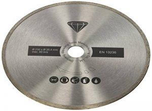 Scheppach 7906700704Disque à tronçonner diamant, convient pour le fs4700Coupe-carreaux, Coupe carrelage, marbre, diamètre 230x 2,4mm de la marque Scheppach image 0 produit