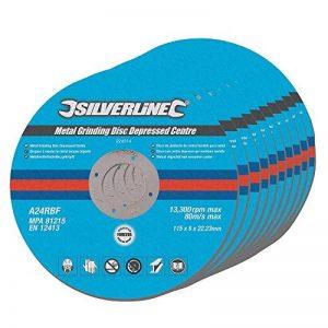 Silverline 224514 Disques abrasifs Métal 115 x 6 x 22,2 mm de la marque Silverline image 0 produit