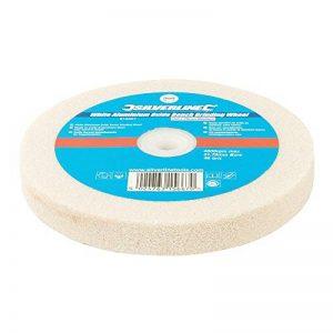 Silverline 915507 Meule en oxyde d'aluminium pour touret à meuler, 0 V, Blanc de la marque Silverline image 0 produit