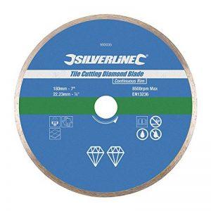 Silverline 993035 Disque diamant carrelage 180 x 22.2 mm de la marque Silverline image 0 produit
