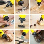 TecTake® Mini meuleuse avec accessoires, 243pièces de la marque TecTake image 1 produit
