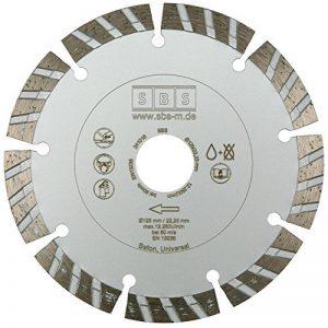 Turbo Disque diamant Ø 125mm pour le béton de la marque SBS image 0 produit