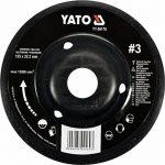 Yato Disque râpe professionnelle pour meuleuse d'angle Sélection Disque 115mm disque abrasif 125mm Bois Bois Flex Artisanat (115mm bois nr 1) de la marque Yato image 2 produit