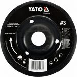 Yato Disque râpe professionnelle pour meuleuse d'angle Sélection Disque 115mm disque abrasif 125mm Bois Bois Flex bois plastique (125mm NR 2Biais) de la marque Yato image 2 produit